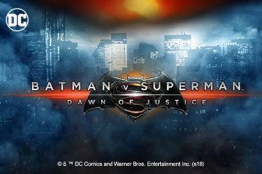 Batman vs superman: dawn of justice